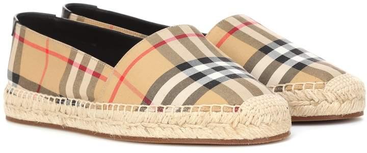 cb361a0e1 Burberry Canvas Shoes - ShopStyle