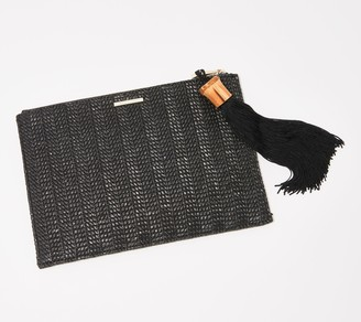 Vince Camuto Clutch with Tassel Detail - Iggy