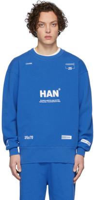 Han Kjobenhavn Blue Bulky Crew Sweatshirt
