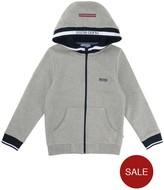 BOSS Boys Zip Through Hooded Jacket