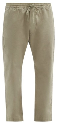Barena Bativoga Drawstring-waist Cotton-blend Trousers - Beige