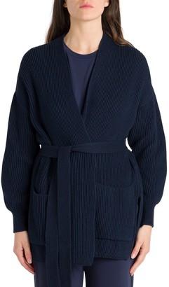 Max Mara Twisted Cotton Cardigan