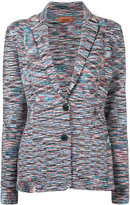 Missoni classic collar striped cardigan
