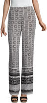 BY AND BY by&by Bordered Palazzo Pants-Juniors