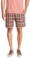 Vintage 1946 Plaid Cotton Pull-On Short