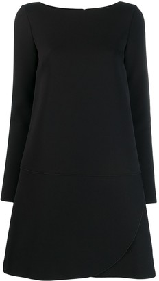 Gianluca Capannolo boat-neck dress