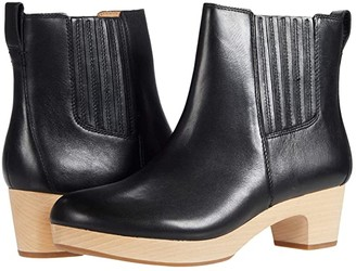 Madewell Benny Clog Bootie (True Black) Women's Shoes