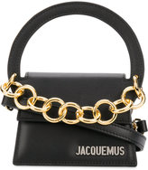 Jacquemus chain detail shoulder bag - women - Leather - One Size