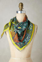 Anthropologie Lush Tropic Scarf