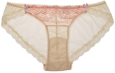Mimi Holliday Sugared Almond Smooth Mesh Back Knicker