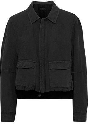 Haider Ackermann Cotton And Linen-blend Bomber Jacket