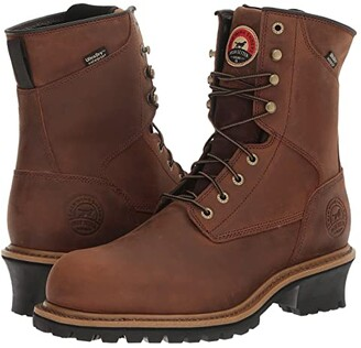 Irish Setter Mesabi 8 Soft Toe (Brown) Men's Work Boots