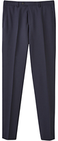 Jigsaw Bloomsbury Italian Super 120s Wool Slim Fit Trousers, Midnight
