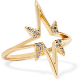 Elizabeth and James Astral Gold-plated Topaz Ring - 8