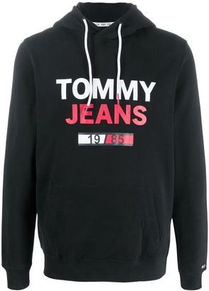 Tommy Hilfiger Long Sleeve Printed Logo Hoodie