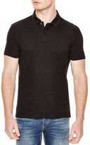 Sandro Beach Knit Slim Fit Polo