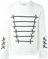 Ports 1961 embroidered sweatshirt - men - Cotton - S