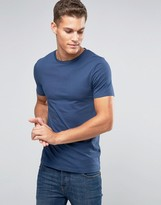 Asos Fitted Fit T-Shirt With Crew Neck And Stretch