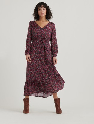 Lucky Brand Brea Ditsy Floral Dress