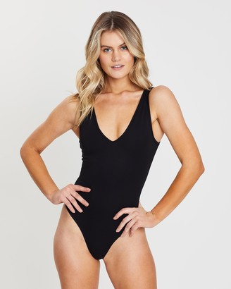 Atmos & Here Ela V-Neck Singlet Bodysuit