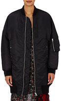 R 13 Women's Oversized Bomber Jacket-Cape-BLACK