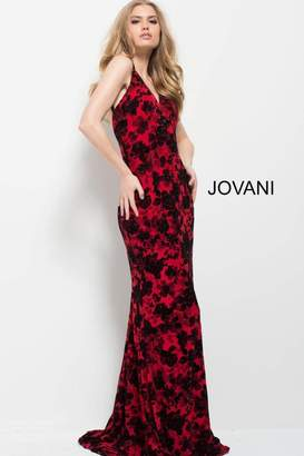 Jovani Printed Prom Gown
