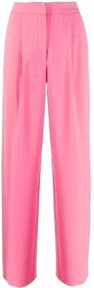 Parker Chinti & high-rise straight trousers