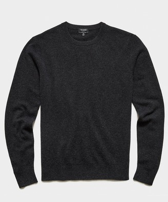 Todd Snyder Cashmere Crewneck in Charcoal