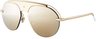 Christian Dior Dio(R)evolution Mirrored Aviator Sunglasses