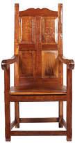 One Kings Lane Vintage 1920s Elizabethan-Style Paneled Chair