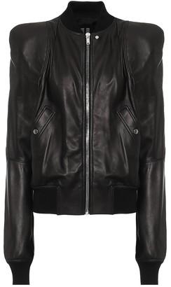 Rick Owens Zionic leather jacket
