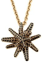 Oscar de la Renta Convertible Star Brooch Pendant Necklace