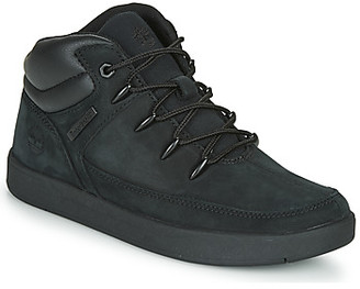 Timberland DAVIS SQUARE TDEUROSPRINT girls's Shoes (High-top Trainers) in Black