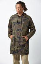 Obey Creeper Wall Camouflage Hooded Windbreaker Jacket