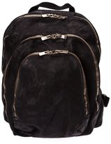 Guidi multi zipped pockets backpack - men - Horse Leather - One Size