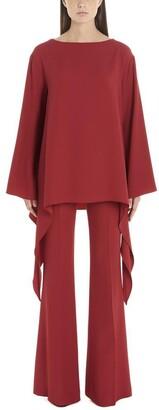 Alberta Ferretti Oversized Asymmetric Blouse