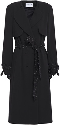 Claudie Pierlot Belted Cady Trench Coat