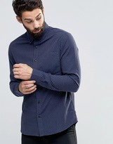 ONLY & SONS Dot Jacquard Shirt