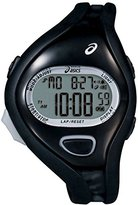 Asics Unisex CQAR0505 Entry All Black Digital Running Watch