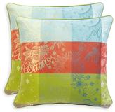 Garnier Thiebaut Mille Couleurs Pillow Cover (Set of 2)
