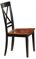Progressive Cosmo Dining Chair - Cherry Black (Set Of 2)