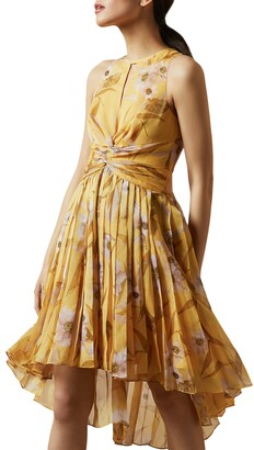 Ted Baker Fabulas Cabana Pleated Dress