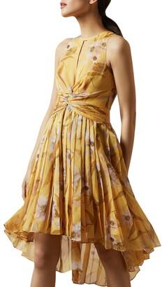 Ted Baker Fabulas Cabana Pleated Dress