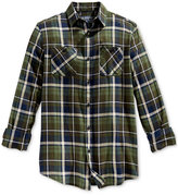 American Rag Men's Plaid Flannel Shirt, Only at Macy's