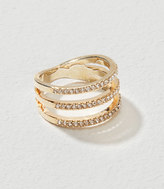 LOFT Pave Stacked Ring