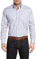 Peter Millar Men's Grassland Check Sport Shirt