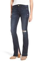 DL1961 Women's Bridget Split Hem Bootcut Jeans
