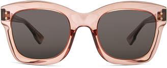 Christian Dior Izon Sunglasses in Pink & Gray Blue | FWRD