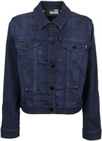 Love Moschino Blue Cotton Jacket