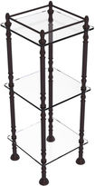 ALLIED BRASS Allied Brass Three Tier Etagere With 14 IN X 14 INShelves